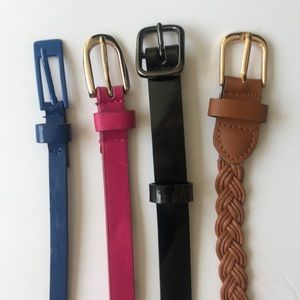 Accessories - Lot of 4 Belts, Large/XL